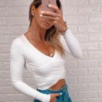 Blusa Transpassada Branca (2)