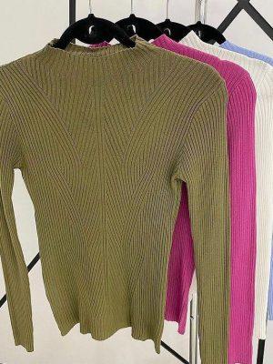 Blusa Tricot Modal Básica